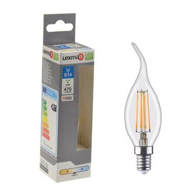 Żarówka LED E14 4.5 W = 40 W 470 lm Neutralna LEXMAN
