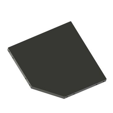Półka narożna do systemu regałowego 30 x 30/45 cm METALKAS