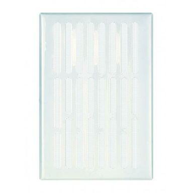 Kratka wentylacyjna stalowa 14 x 21 cm biała EQUATION