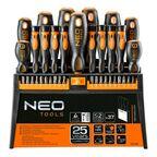 Zestaw wkrętaków i końcówek 37 szt. Neo Tools