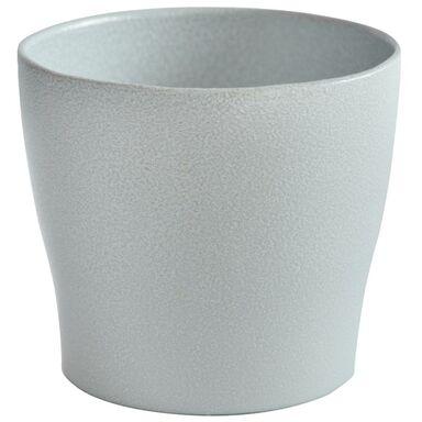 Doniczka Ceramiczna 19 Cm Szara Toskania Ceramik