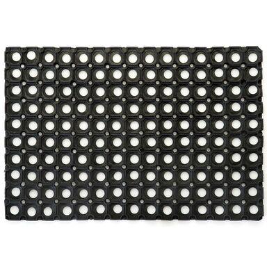 Wycieraczka zewnętrzna Alfa 100 x 50 cm gumowa czarna