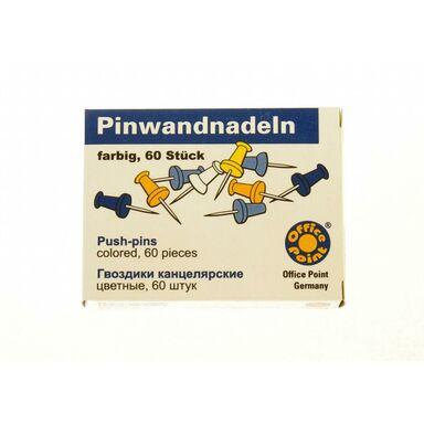 Pinezki tablicowe 50 szt. kolorowe KOH-I-NOOR