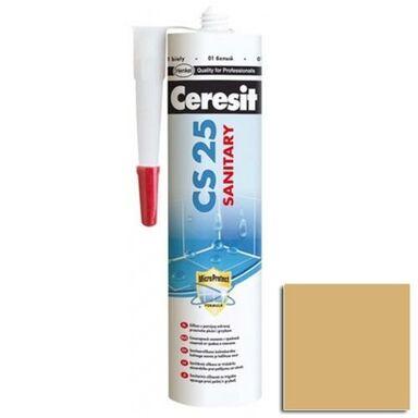 Silikon sanitarny  CS-25 280 ml Toffi CERESIT