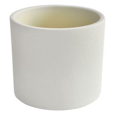 Osłonka ceramiczna 23 cm biała WALEC CERAMIK
