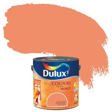 Farba wewnętrzna KOLORY ŚWIATA 2,5 l Szafranowe szaty DULUX