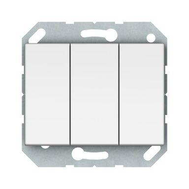 Włącznik potrójny VILMA P510-030-02B BIAŁY DPM