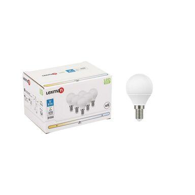 Żarówka LED E14 6 szt. 4.8 W = 40 W 470 lm Neutralna LEXMAN