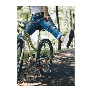 Obraz na pilśni Na rowerze 70 x 100 cm