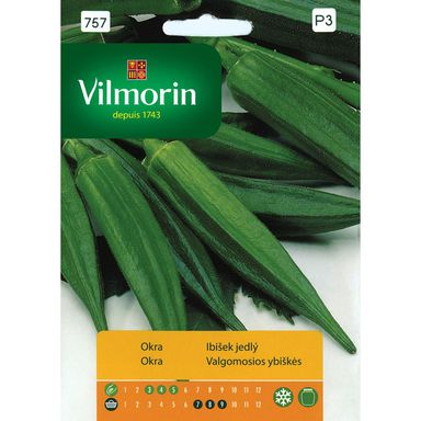 Okra (Gombo, Bamia) nasiona tradycyjne 2 g VILMORIN