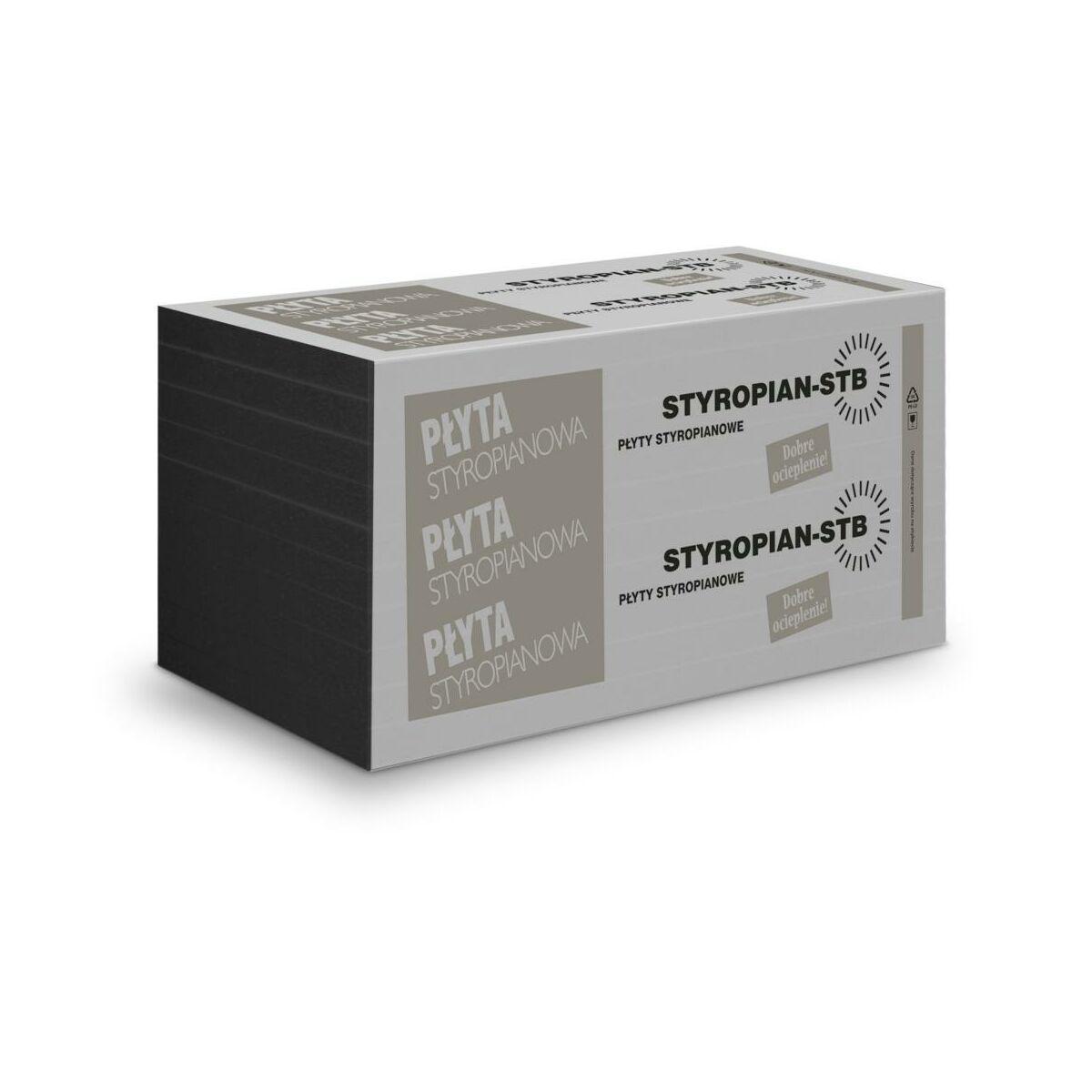 Styropian fasadowy niefrezowany 033 GRAFIT 100 mm STB