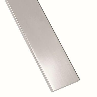 Płaskownik stalowy nierdzewny 1 m x 30 x 3 mm polerowany