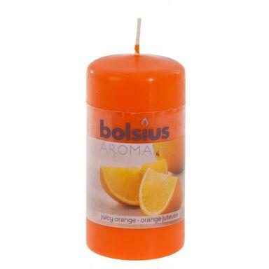 Świeca pieńkowa zapachowa AROMATIC pomarańcza BOLSIUS