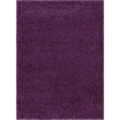 Dywan LUMINI fioletowy 80 x 150 cm wys. runa 40 mm INSPIRE