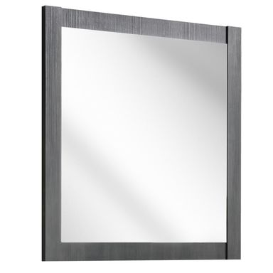 Lustro łazienkowe bez oświetlenia, 840 60 x 80 CLASSIC GRAFIT