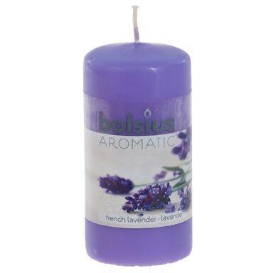 Świeca pieńkowa zapachowa AROMATIC lawenda BOLSIUS