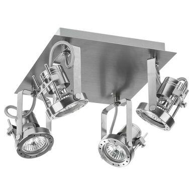 Plafon TECHNIC srebrna GU10 INSPIRE