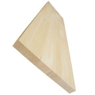 Parapet wewnętrzny sosnowy bezsęczny 150x25x2.7 cm