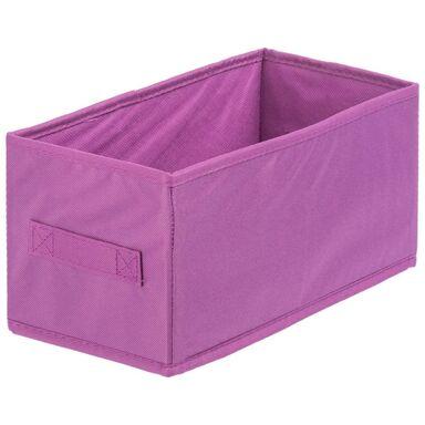 Pudełko tekstylne MULTISPACEO S 15 x 31 x 15 cm SPACEO
