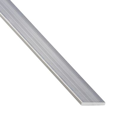 Płaskownik aluminiowy 2.6 m x 30 x 2 mm surowy srebrny STANDERS