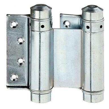 Zawias wahadłowy drzwiowy 76 x 53 mm przykręcany ocynkowany