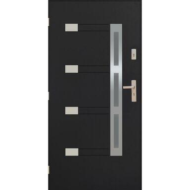 Drzwi wejściowe NIMES Antracyt 90 Lewe PANTOR