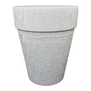 Doniczka ceramiczna 20.8 cm kremowa T-143-780-21 CERMAX