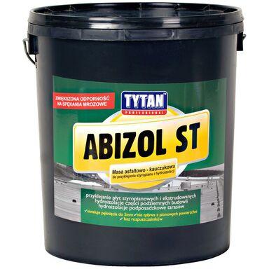 Masa asfaltowo - kauczukowa do styropianu ABIZOL ST 18 kg TYTAN PROFESSIONAL