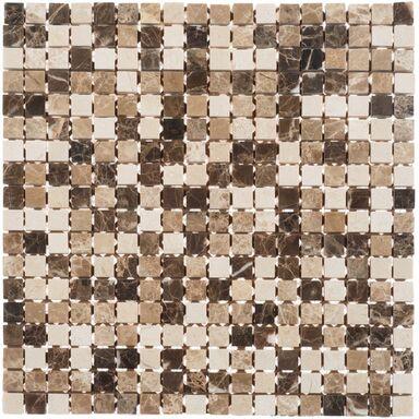 Mozaika travertine 30 50 x 30 50 artens trawertyn w atrakcyjnej cenie w sklepach leroy merlin for Travertine leroy merlin