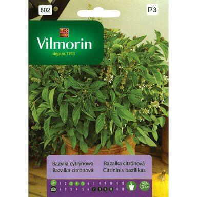 Bazylia cytrynowa nasiona tradycyjne 0.5 g VILMORIN