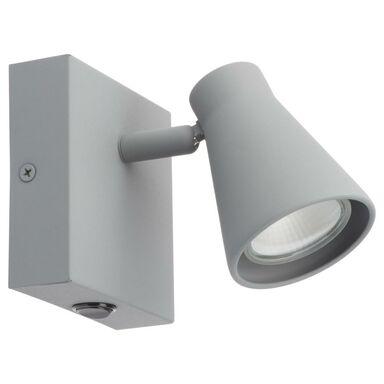 Reflektorek NAPOLI z włącznikiem szary GU10 INSPIRE