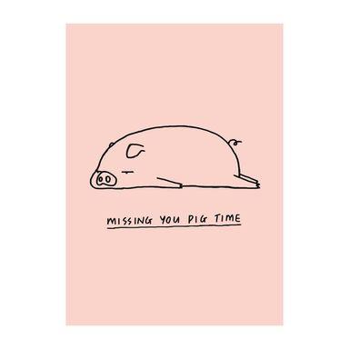 Obraz na pilśni PIGGY 50 x 70 cm