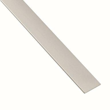 Płaskownik aluminiowy 1 m x 18 x 2 mm anodowany srebrny