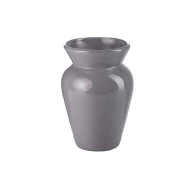 Wazon ceramiczny BARYŁKA wys. 20 cm szary
