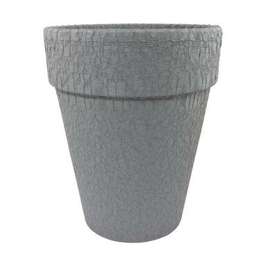 Doniczka gliniana 20.8 cm grafitowa T-143-782-21 CERMAX