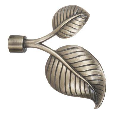 Końcówka pręta do zasłon LIŚĆ  dł. 2.9 cm  INSPIRE