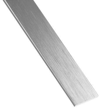 Płaskownik aluminiowy 1 m x 30 x 2 mm anodowany srebrny