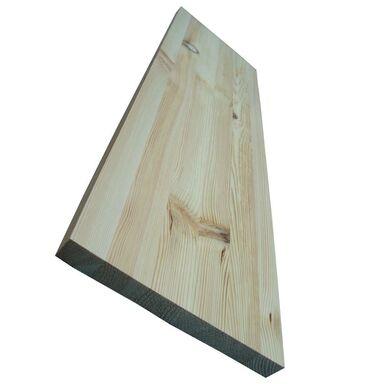 Parapet wewnętrzny sosnowy sęczny 120x30x2.7 cm