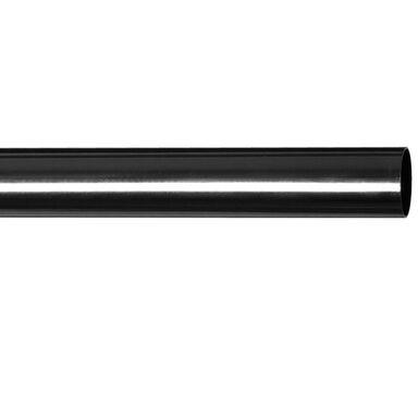 Drążek do karnisza MEDIOLAN 200 cm onyx 19 mm metalowy