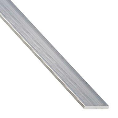 Płaskownik aluminiowy 1 m x 25 x 2 mm surowy srebrny STANDERS