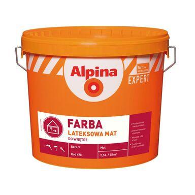 Baza do mieszalni farb FARBA LATEKSOWA 2.35 l ALPINA