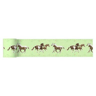 Bordiura dziecięca Kuda 13 cm x 5 m zielona