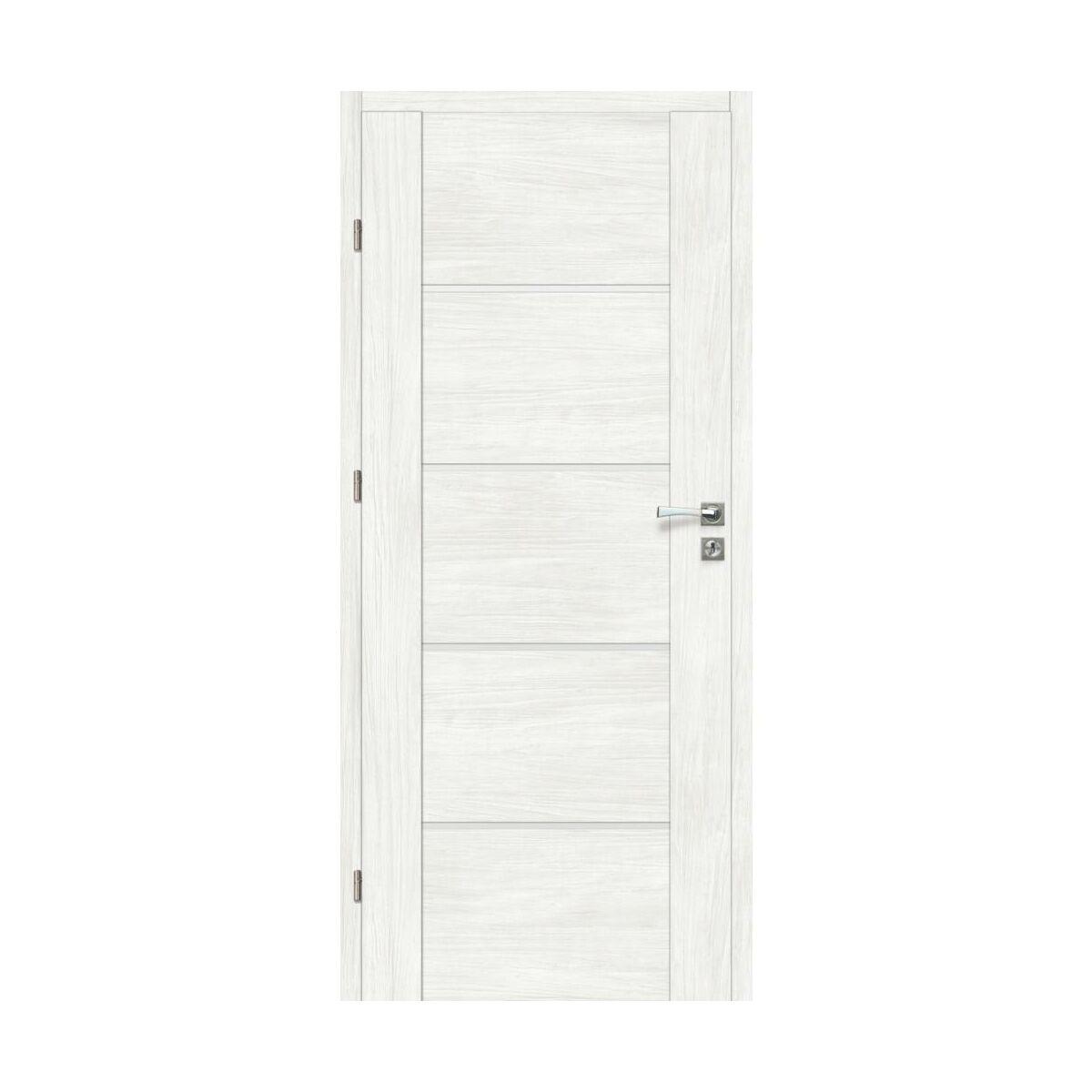 Skrzydlo Drzwiowe Pokojowe Malibu Bianco 80 Lewe Artens Drzwi Wewnetrzne W Atrakcyjnej Cenie W Sklepach Leroy Merlin