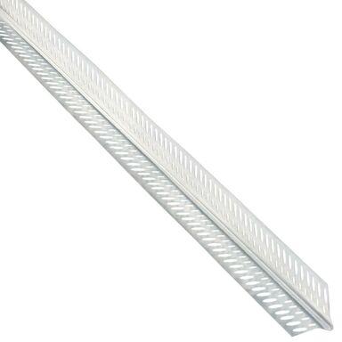 Narożnik aluminiowy WZMOCNIONY 24,5 x 24,5 2,5 mb NORGIPS