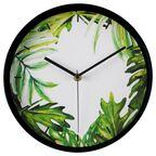 Zegar ścienny Greenery śr. 25 cm zielony