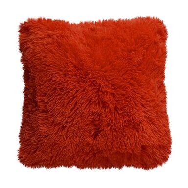 Poduszka FUTRZAK czerwona 40 x 40 cm