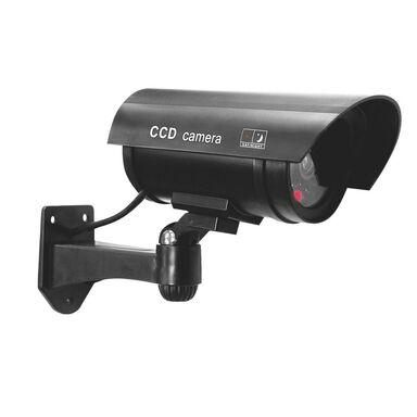 Atrapa kamery MONITORUJĄCEJ CCTV czarna ORNO