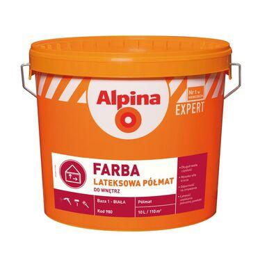 Baza do mieszalni farb FARBA LATEKSOWA 10 l ALPINA