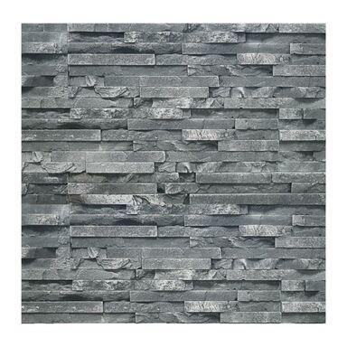 Kamień dekoracyjny gipsowy Amadore czarny 49,5 x 14,5 cm 0.43m2 Steinblau