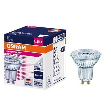 Żarówka LED GU10 (230 V) 4,3 W 350 lm Żółty OSRAM